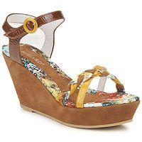 Παπούτσια Γυναίκα Σανδάλια / Πέδιλα Regard RAFAX Camel / Yellow