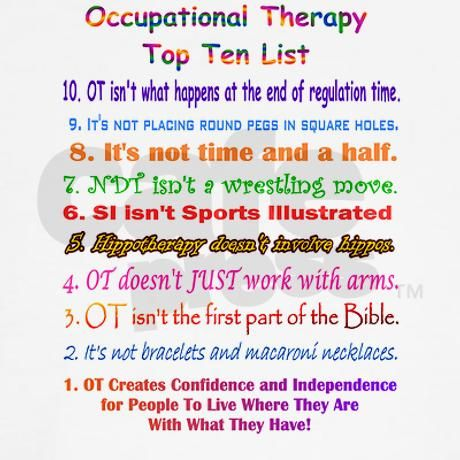 Occupational Therapy Assistant (OTA) top 10 colleges in the world