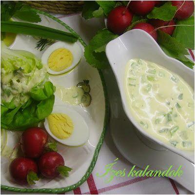 Ízes kalandok: Salátadresszing főtt tojásból