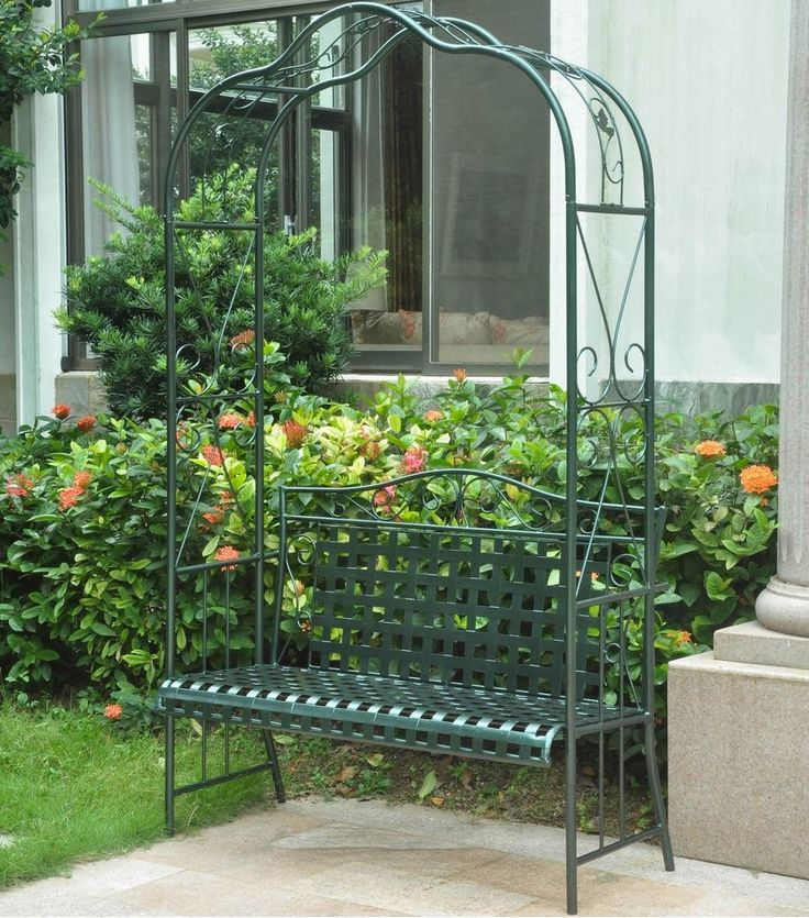 Iron Trellis Ideas