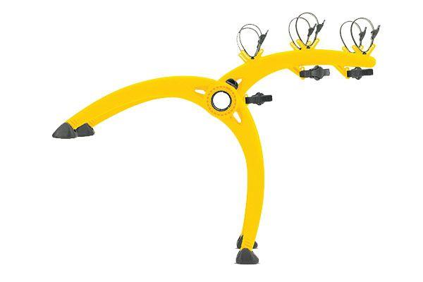 Saris Bones Trunk Mount Bike Rack in yellow