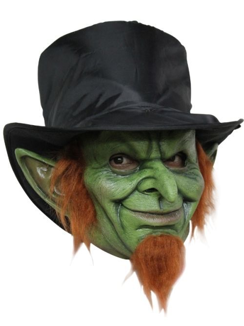 Mask Head - for Cosplay Halloween Dress Up Scary Party Costume - Goblin Mad