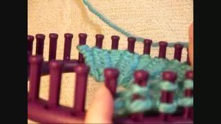 loom knit - YouTube