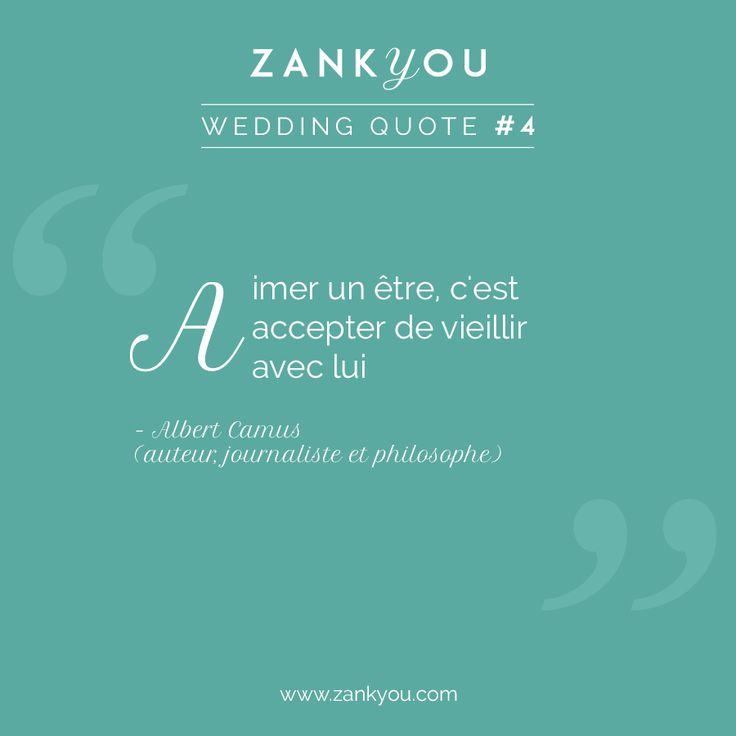 Wedding Quote #4 Une citation toute spéciale à partager avec l'être aimé, car l'amour est la seule chose qui grandit lorsqu'il est partagé ! <3