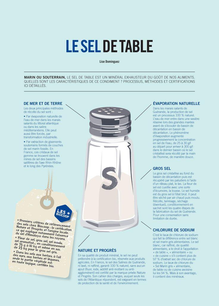 Gros sel, sel marin, sel blanc… Savez-vous les différencier ? On vous dit tout sur le sel de table dans #CulturesBio95