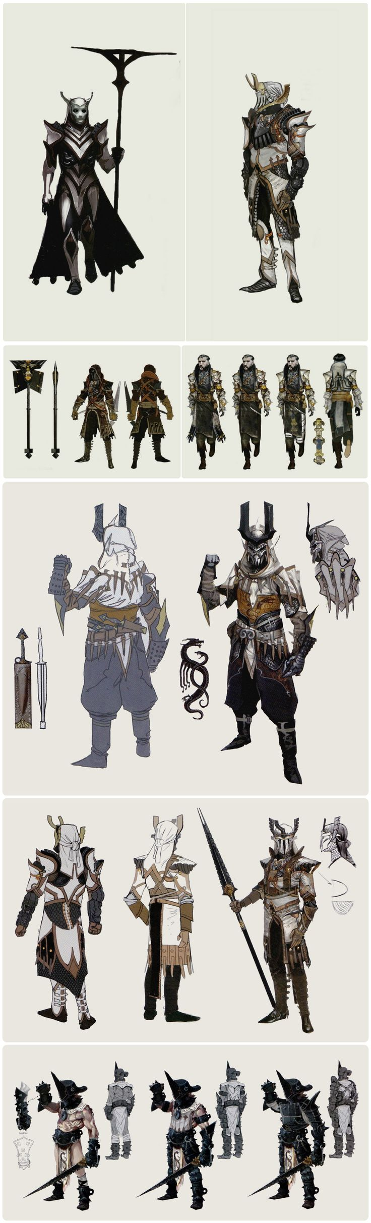 Dragon Age Inquisition Character Design Ideas : Venatori concept art in the of dragon age inquisition