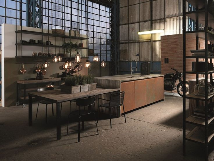 FACTORY Cuisine Collection Factory by Aster Cucine design Lorenzo Granocchia