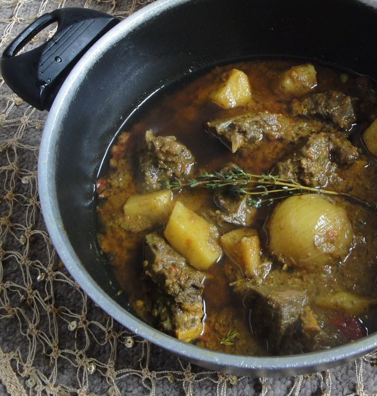 Jamaican Curry Goat | Jamaican Food | Pinterest