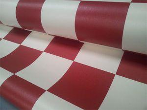 funky checker vinyl flooring red, blue, grey or black & white