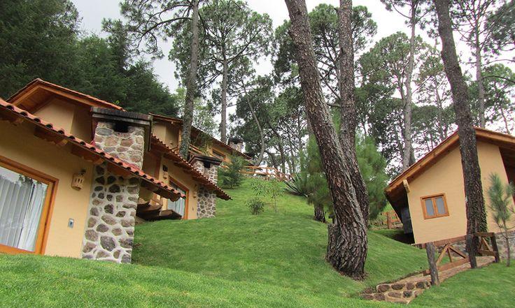Mazamitla: 2 noches para 2 + desayuno de bienvenida en Hotel Bosque Escondido