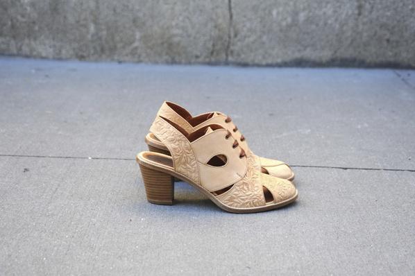 Rae jones hand-tooled leather slingbacks via miss mossNo6, Jacamar Slingback, Ruby Shoes, Slingback Sandals, Accessories, Hands Tools, Jones Jacamar, Jones Shoes, Rae Jones