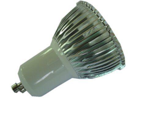 LENBO Dimmable High Power Warm White GU10 3W LED spotlight