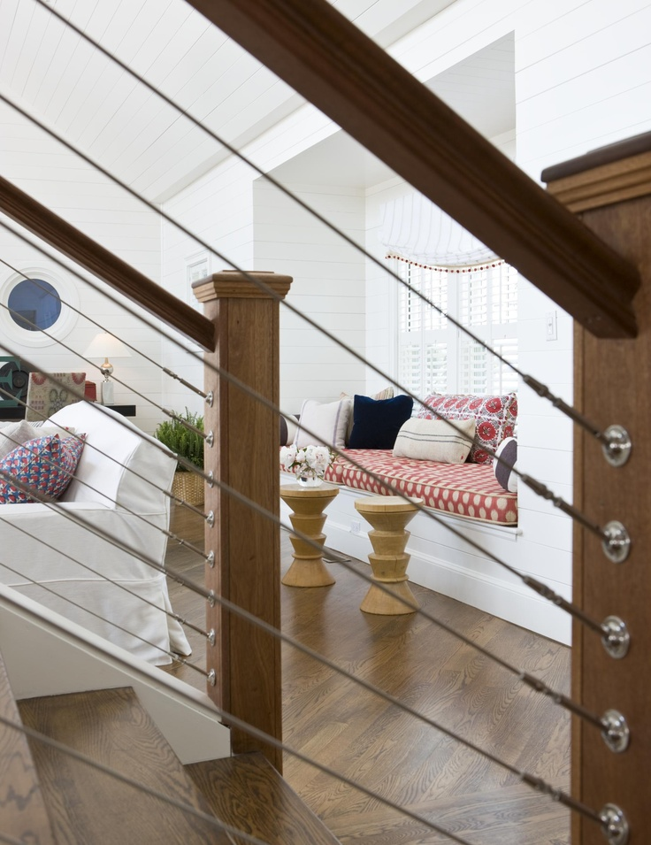 Cable Railing Indoor Staircase Interior Decor Cable