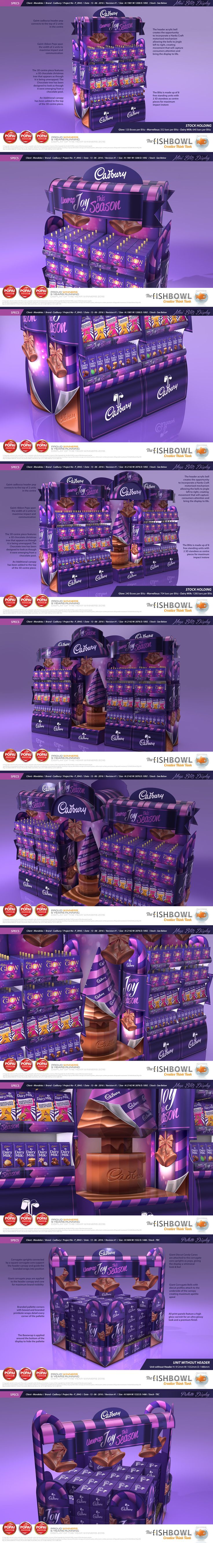 Unwrap Joy - Cadburys Christmas on Behance