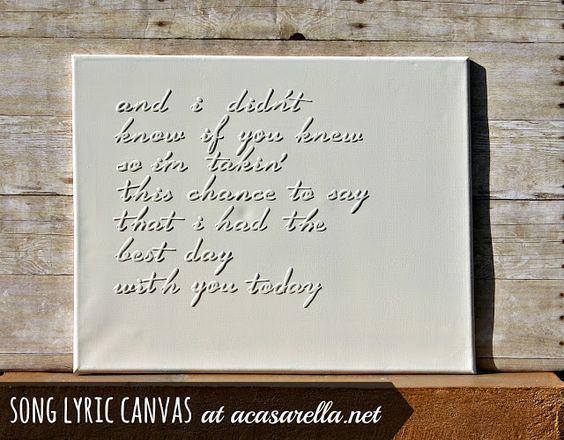 Best Wedding Song Lyrics Ideas On Pinterest Song Lyric