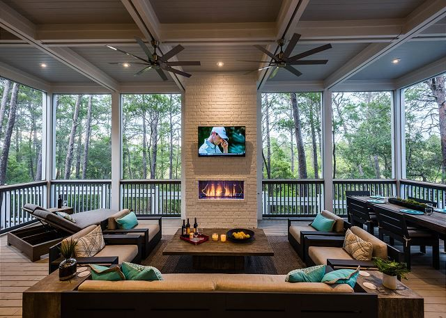 First Floor Screened In Back Porch House With Porch Screened Porch Designs Porch Design