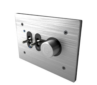 Q-Bic Wall Switches by Lumen8 Free 3D Model