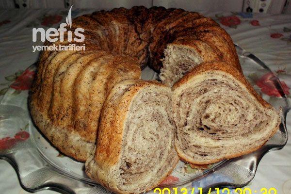 Kek Kalıbında Haşhaşlı Çörek Tarifi nasıl yapılır? 5.231 kişinin defterindeki bu tarifin resimli anlatımı ve deneyenlerin fotoğrafları burada. Yazar: Hanife Fındık Özçelik