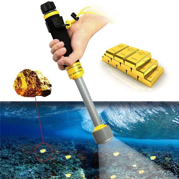 Amazon.com: KKmoon Portable Underwater Detector Vibra-iking 740 Swimming Gold Treasure Metal Detecting PI-iking Pinpointer Handheld Underwater Pulse Induction Technology Waterproof Detector: Garden & Outdoor