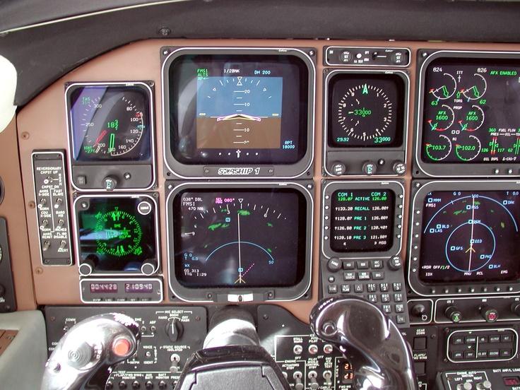 Beechcraft Starship Instrument Panel
