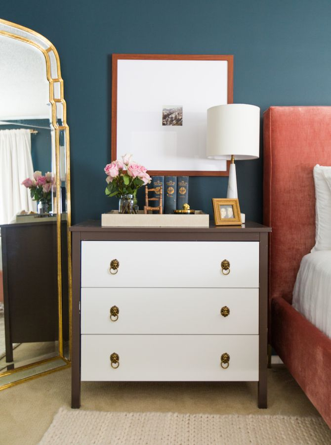Modern vintage bedroom: http://www.stylemepretty.com/living/2017/02/23/how-to-rid-your-home-of-an-ex-without-throwing-his-stuff-out-a-window/ Photography: Laurel and Wolf - https://www.laurelandwolf.com/