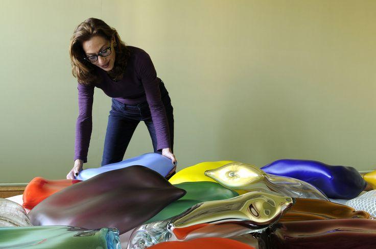 Judi Harvest's Soft Pillows of Murano Glass  http://tmagazine.blogs.nytimes.com/2015/05/18/judi-harvest-murano-glass/?_r=0