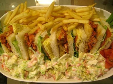 Tandoori Club Sandwich Recipe by Shireen Anwar – Recipes in Urdu & English