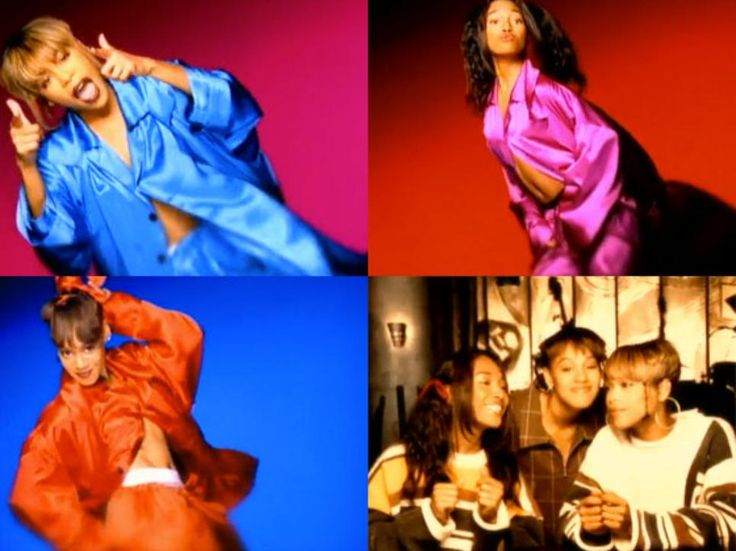 "Number 1 single for TLC - ""Creep"""