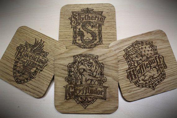 Harry Potter Hogwarts huizen geïnspireerd dranken door ChocoboSquare