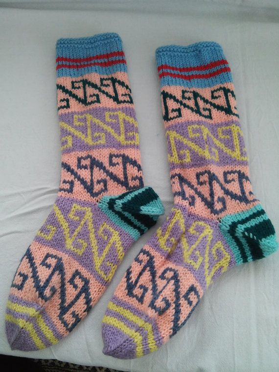 Check out this item in my Etsy shop https://www.etsy.com/listing/272060518/authentic-knitting-socks-in-handmade