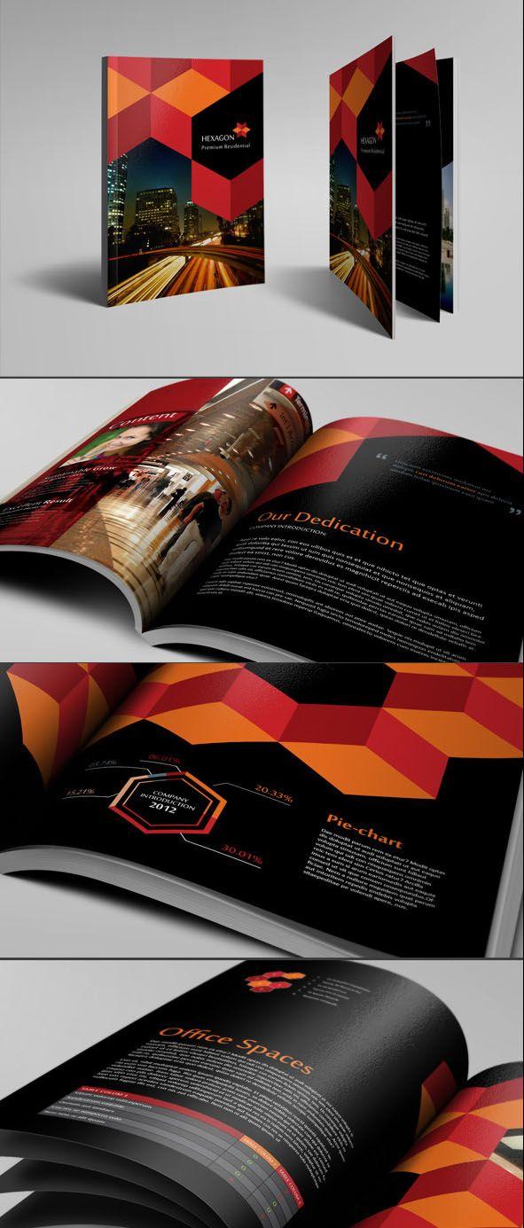 25 Creative Corporate Brochure Design examples for your Inspiration. Follow us www.pinterest.com/webneel