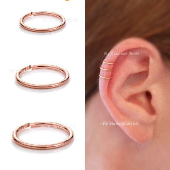 Cat Ear Ring Rose Gold Ebay