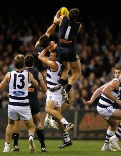 Taking flight. Check out the top 10 speccies in the AFL.