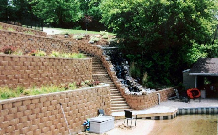Retaining Wall Landscape