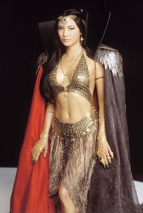 "'The Sorceress' from The Scorpion King. Yeah, she is actually a ""goodie"" - but she started out on the ""bad team""."