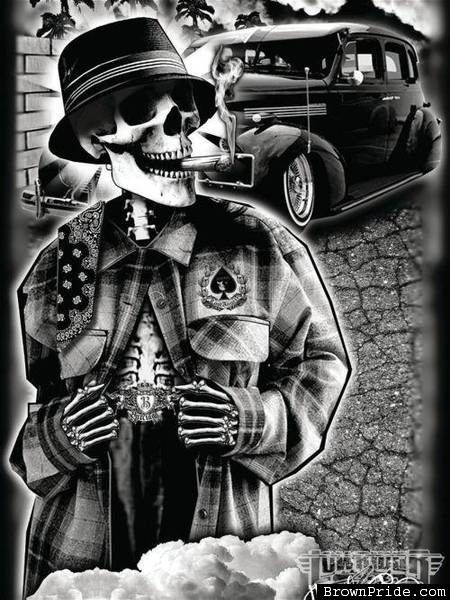 79 best cholo style images on pinterest chicano art cholo art and cholo style - Brown pride lowrider ...