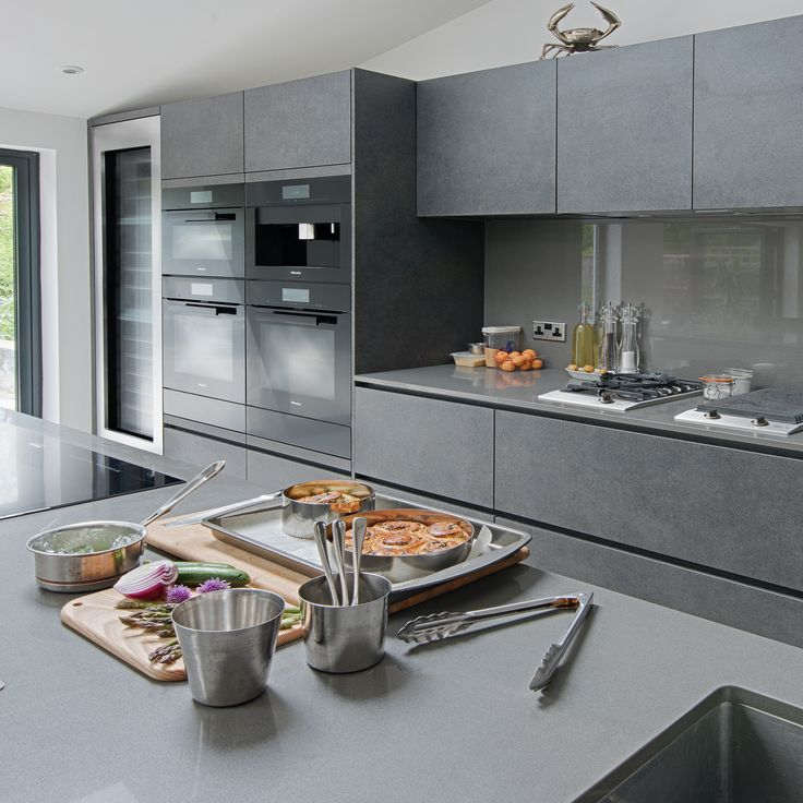 Professional chef and owner of Mere, Monica Galetti's kitchen features a Miele EVS 6214 Sous Vide Vacuum Sealing Drawer - read more about Monica's kitchen on our blog, Der Kern