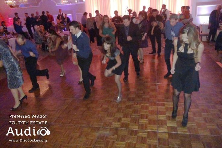 A Chicago wedding DJ classic, the Electric Slide, never fails to fill the dance floor. http://www.discjockey.org/
