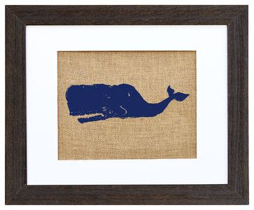 Sperm Whale Art - eclectic - Prints And Posters - Fiber and Water
