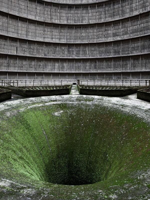 Abandoned Construction of Nuclear Power Plant - Belgium