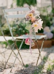 Wedding Chair Aisle Decor / wedding /aisle decor / ceremonie / bouts de bancs / decor