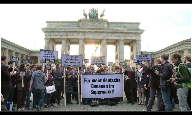 Ich will auch deutsche Bananen ;-)