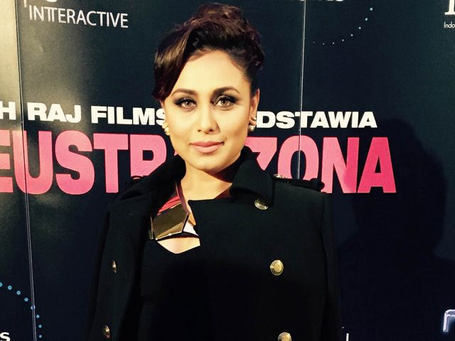 Namaste Poland: Rani Takes Mardaani to Warsaw http://movies.ndtv.com/photos/namaste-poland-rani-takes-mardaani-to-warsaw-18299