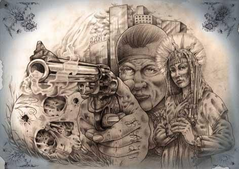 10 best images about flash on pinterest chicano for Chicano tattoo art