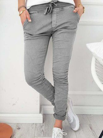 Pockets Women's Legging Sportsamp; Outdoor Bottoms Plain Trousers WHDY29EI