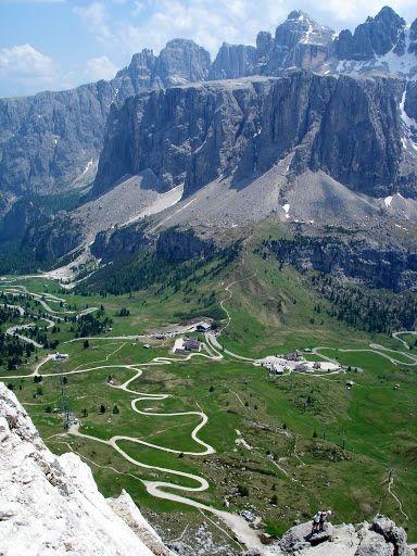 Picos de Europa. Impresionante paisaje de montaña en Asturias.