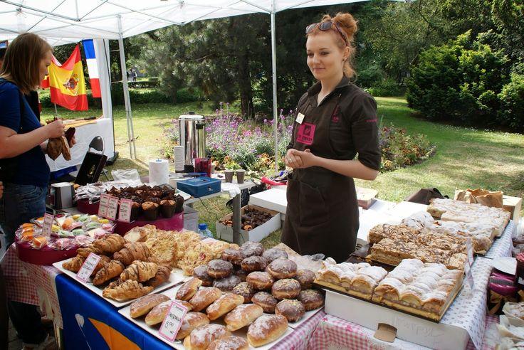 Breakfast market in Sopot Poland