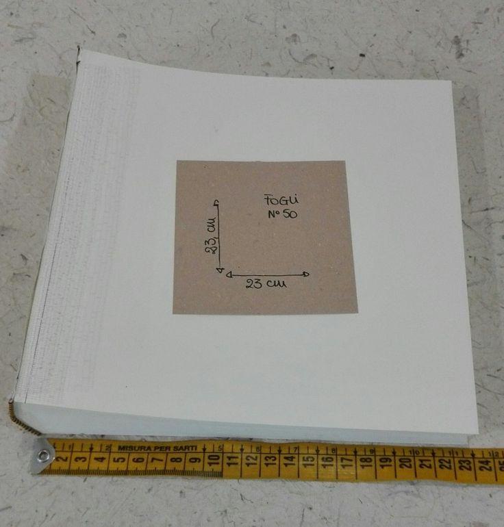 Interno album 23x23 cm 50 fogli, by Mondo Regalo, 11,50 € su misshobby.com