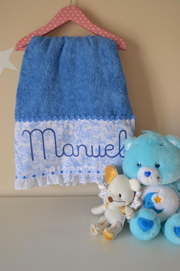 Toalla Personalizada Para Beb 233 Toallas Y Complementos
