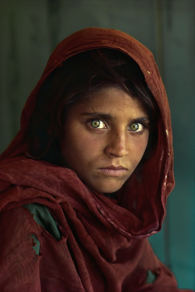 Steve McCurry: La niña afgana